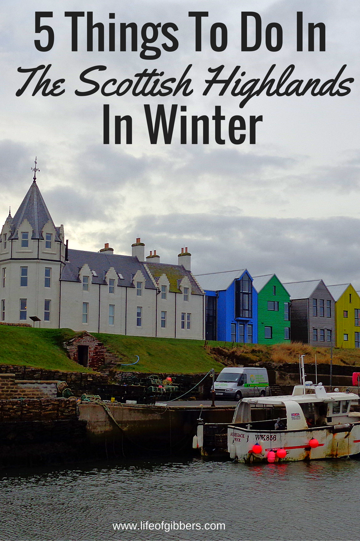 Things to do in the Scottish Highlands in Winter