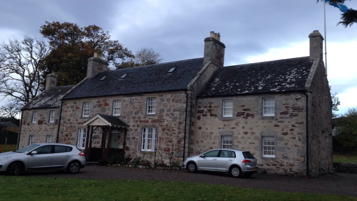 Where We Stayed in Golspie, Scotland