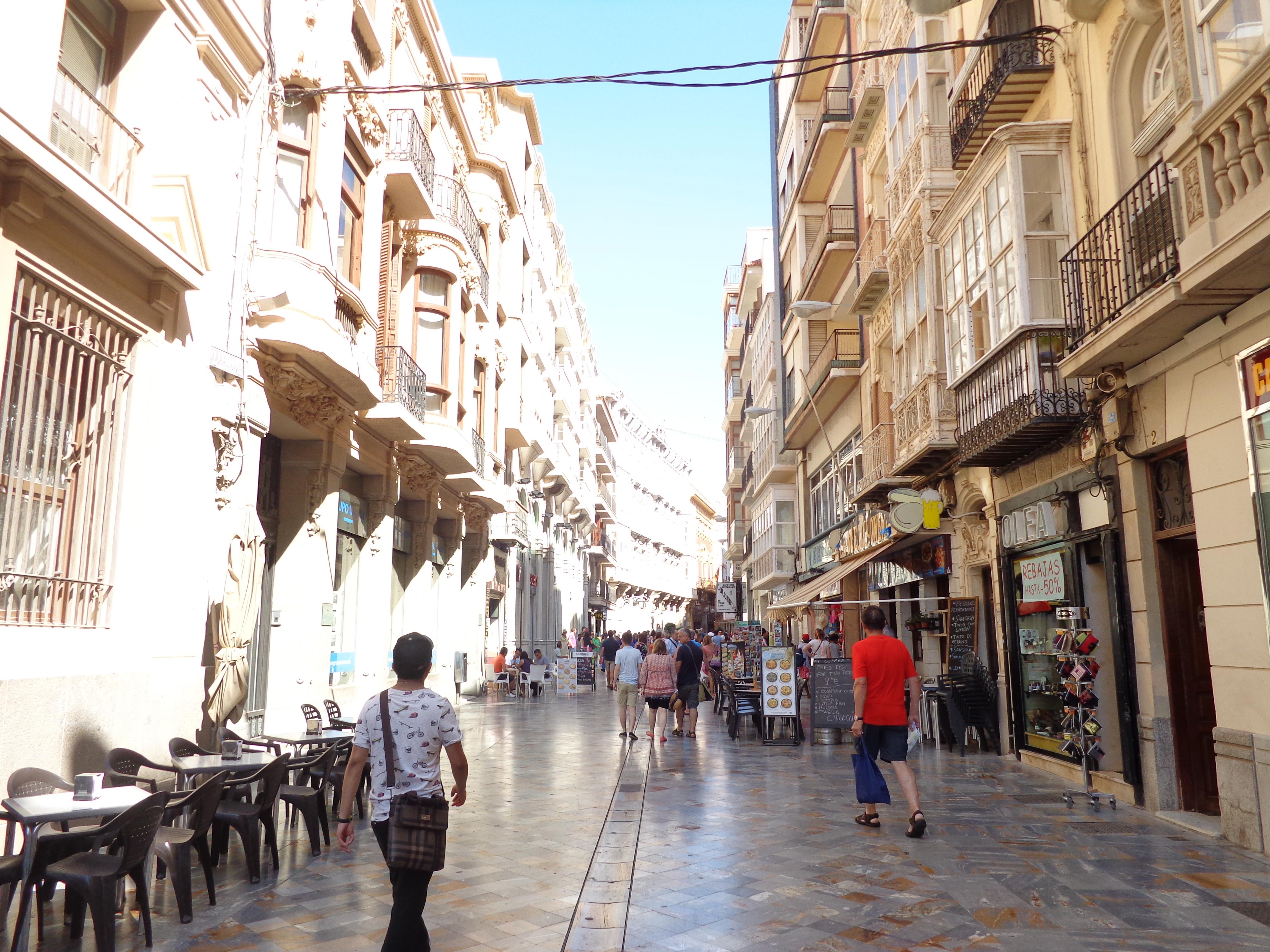 Cartagena Streets Spain
