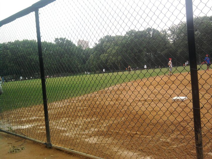 New York Central Park Baseball