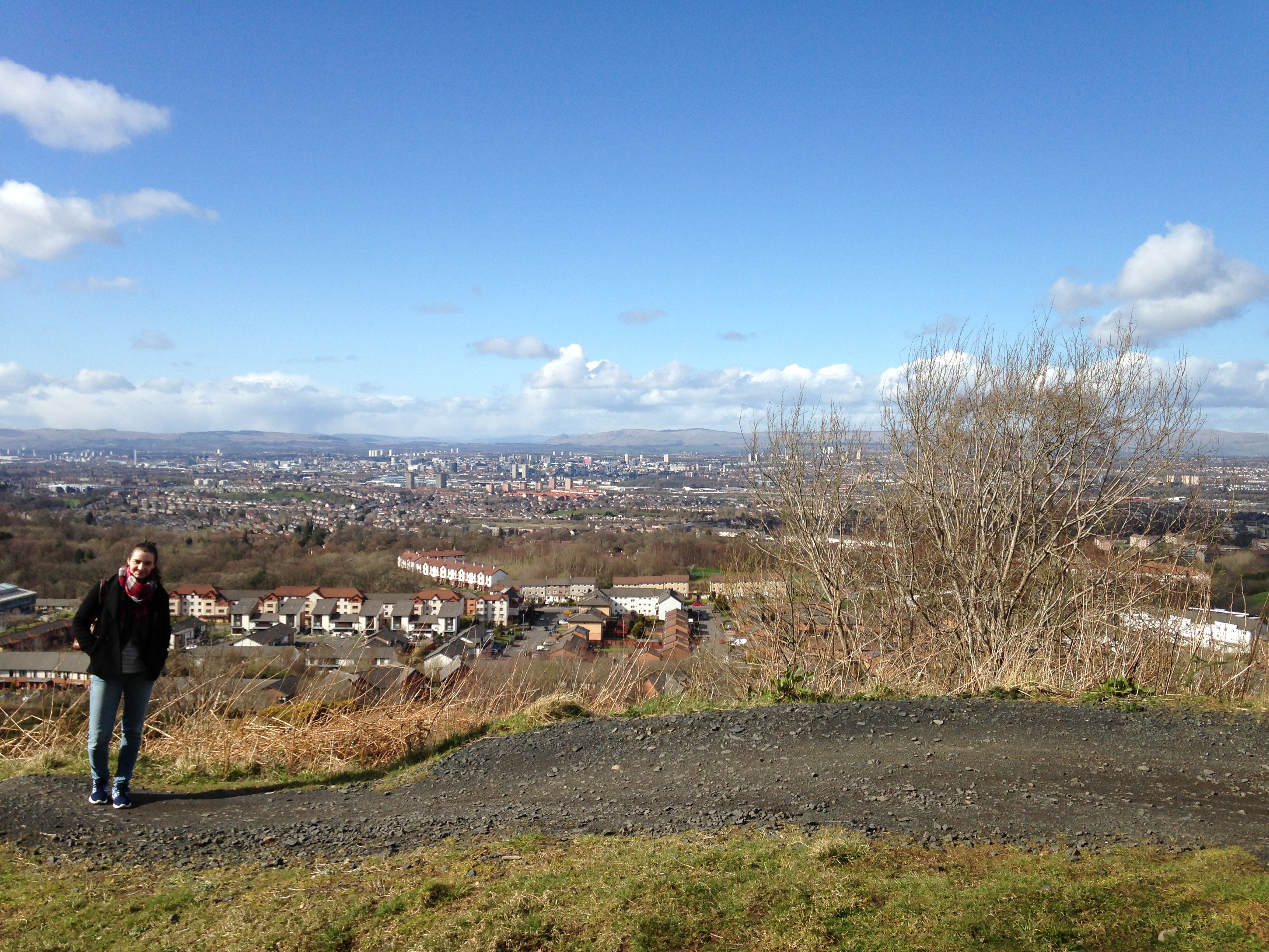 Cathkin Braes Glasgow