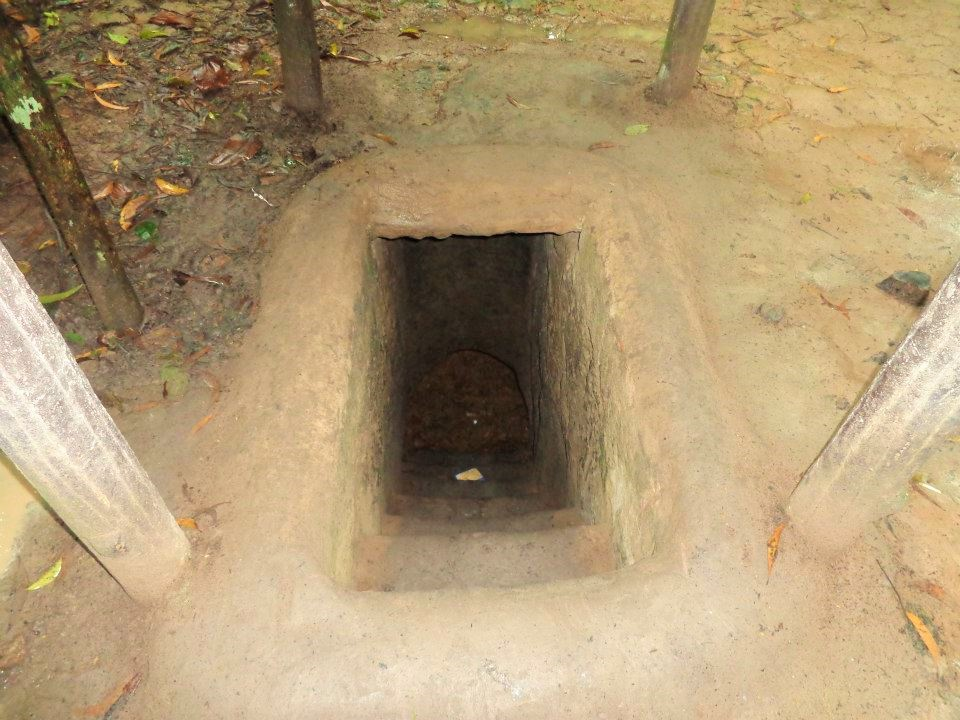 Vietnam Cu Chi Tunnel Jungle