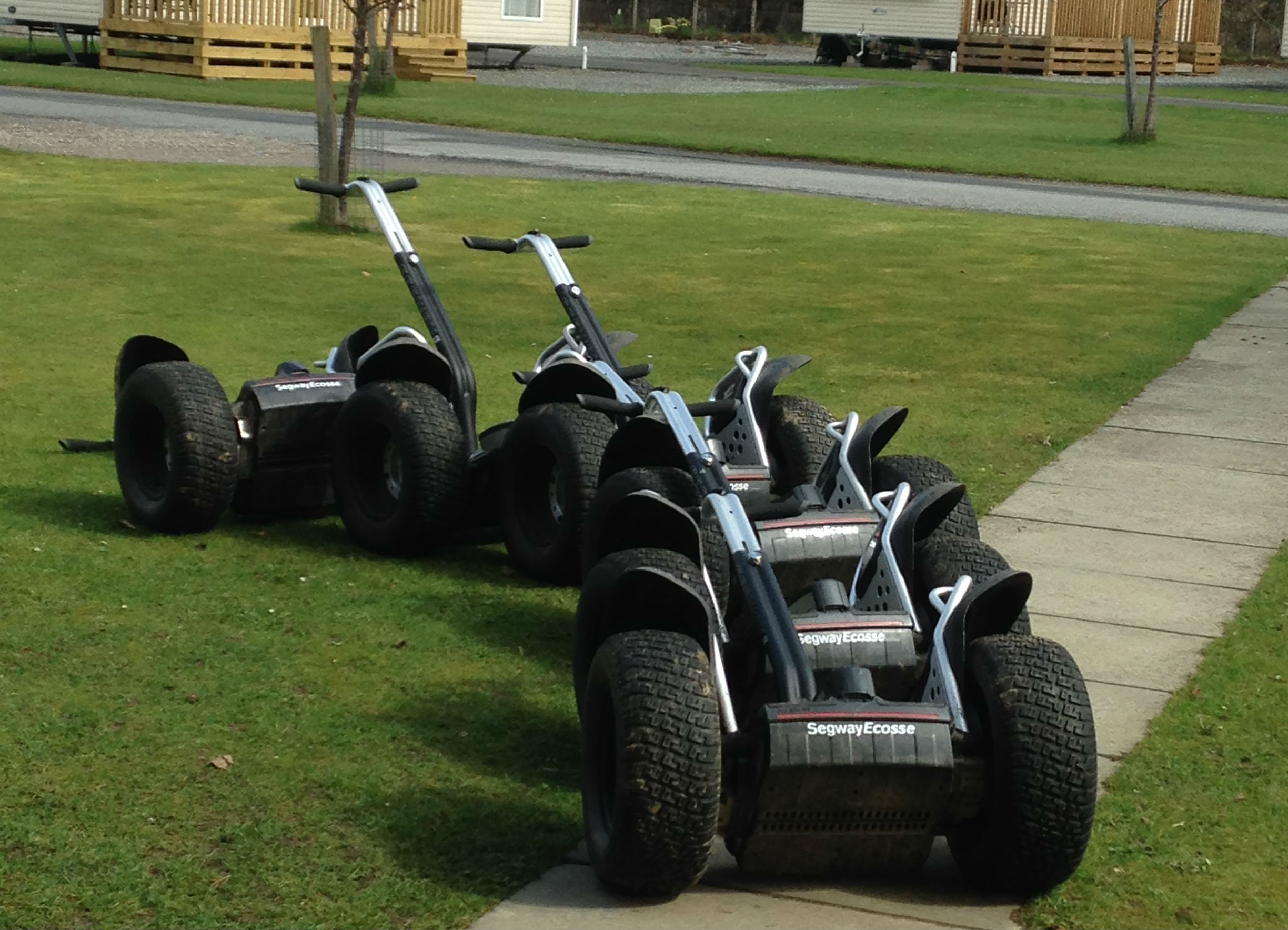 Segwaying around Blair Atholl