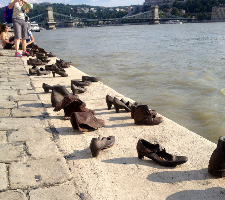 Shoes Danube River Budapest