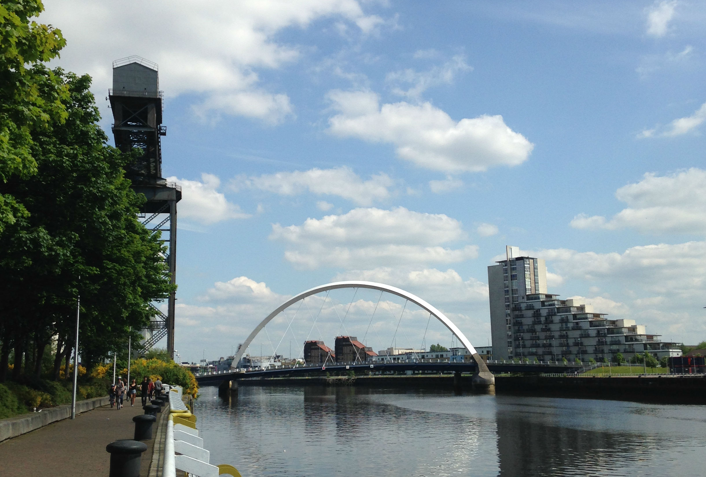 Clydeside & a Night at the Hilton, Glasgow