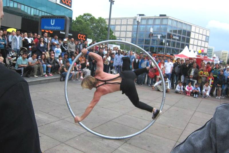 Berlin Street Performer