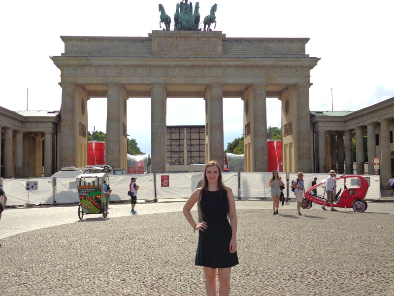Brandenburg Gate Berlin 2016