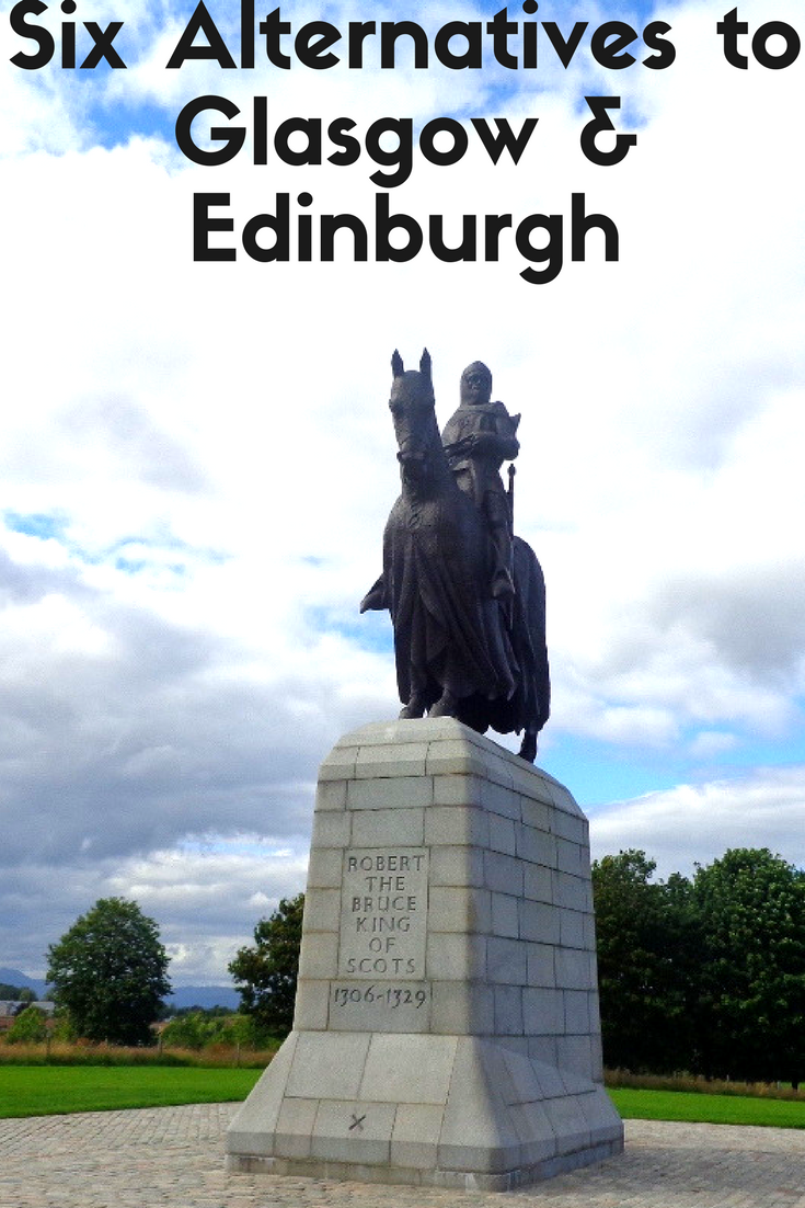 Scotland has plenty of beautiful towns and cities besides the big ones: Glasgow and Edinburgh