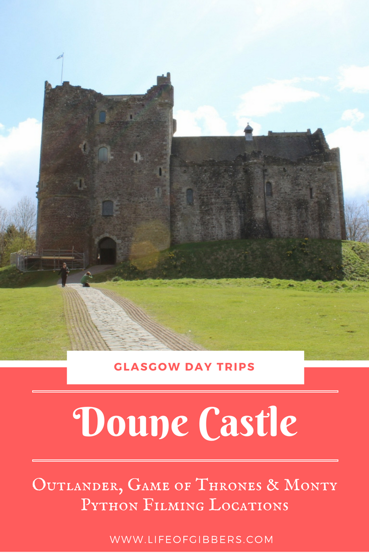 Doune Castle Outlander, Monty Python, Game of Thrones filming location in Scotland