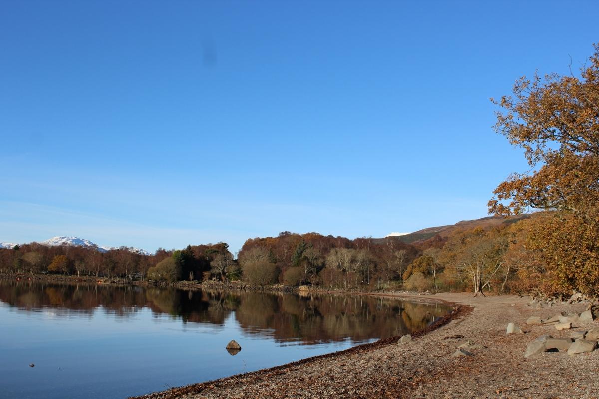 Balmaha Scotland - Loch Lomond