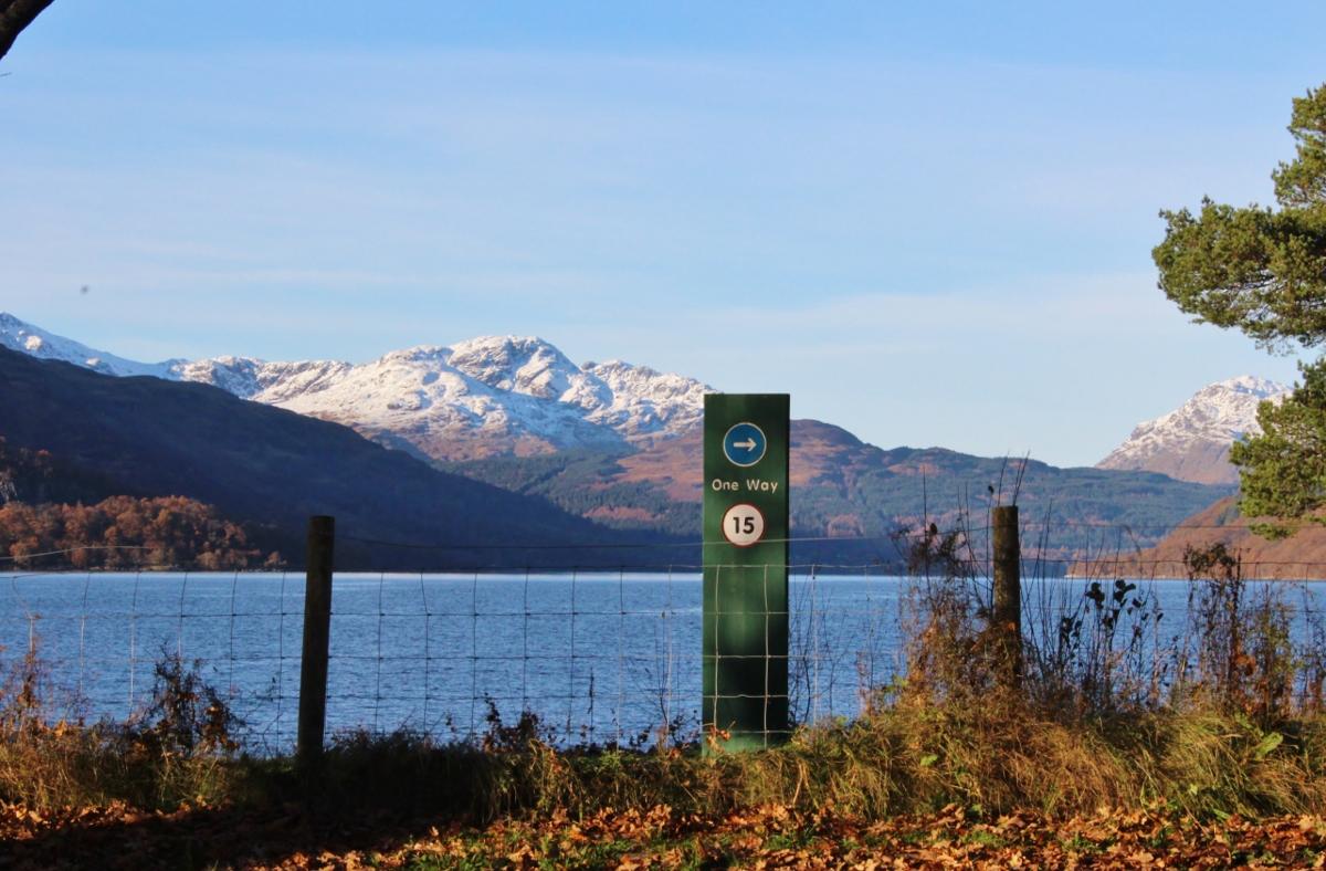 Rowardennan Loch Lomond Scotland
