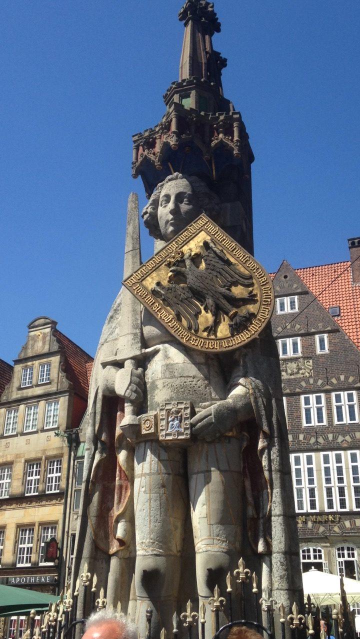 Roland Statue - Bremen Marktplatz