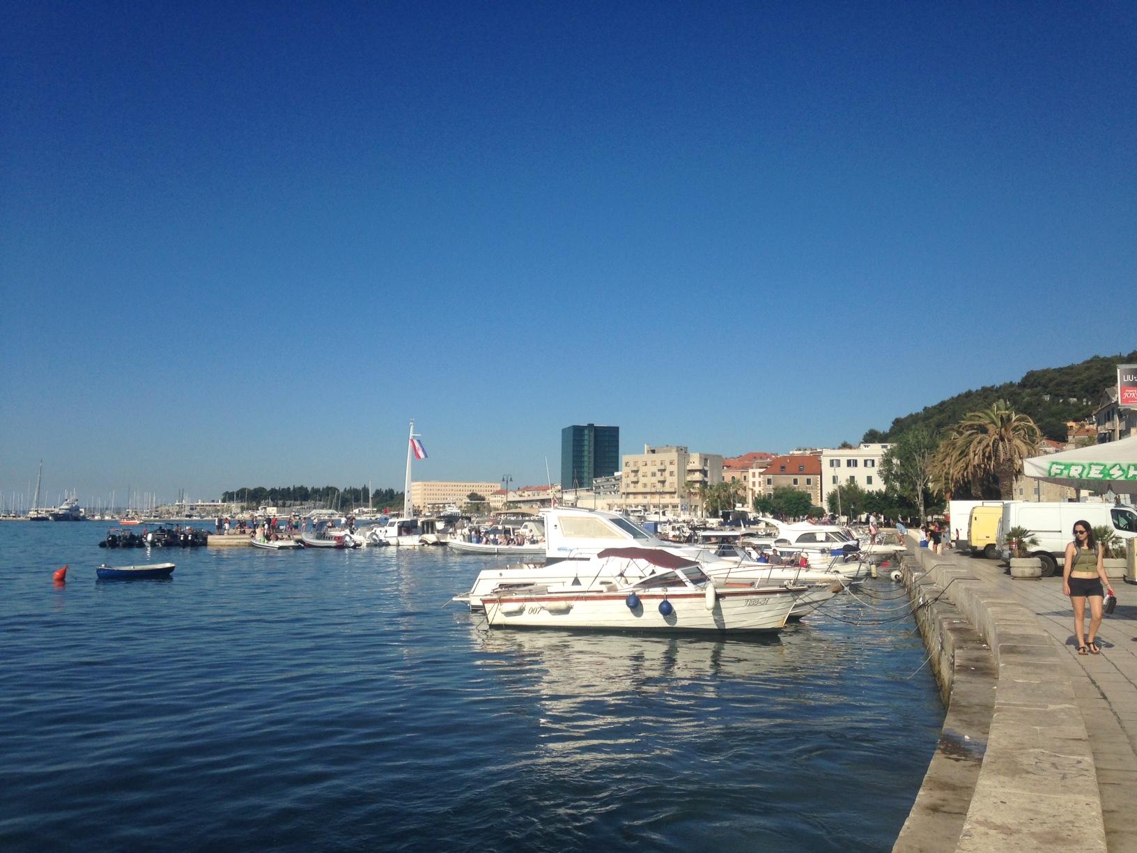 Port of Split, Croatia