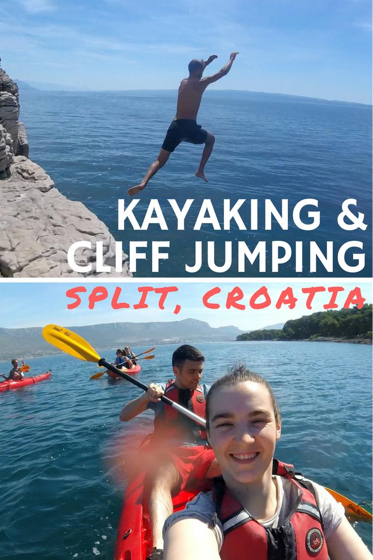 Kayaking, Cliff Jumping & Snorkeling in Split, Croatia with Red Adventures
