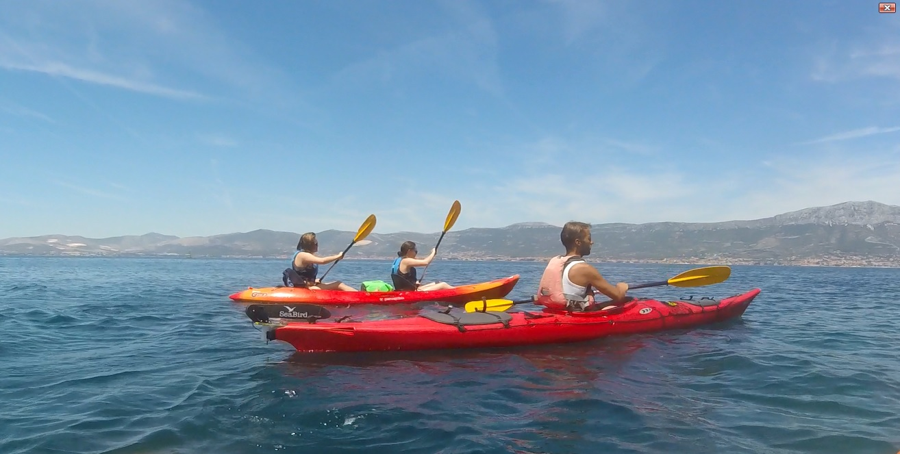 Kayaking, Cliff Jumping & Snorkeling in Split, Croatia with Red Adventures