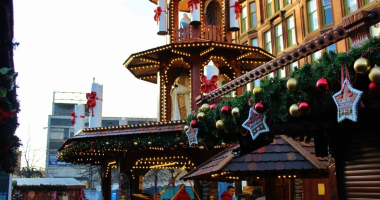 Glasgow Christmas Markets - St Enoch