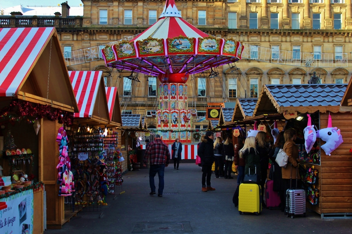 Glasgow Christmas Markets - George Square
