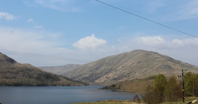 Brig O'Turk and Glen Finglas Reservoir