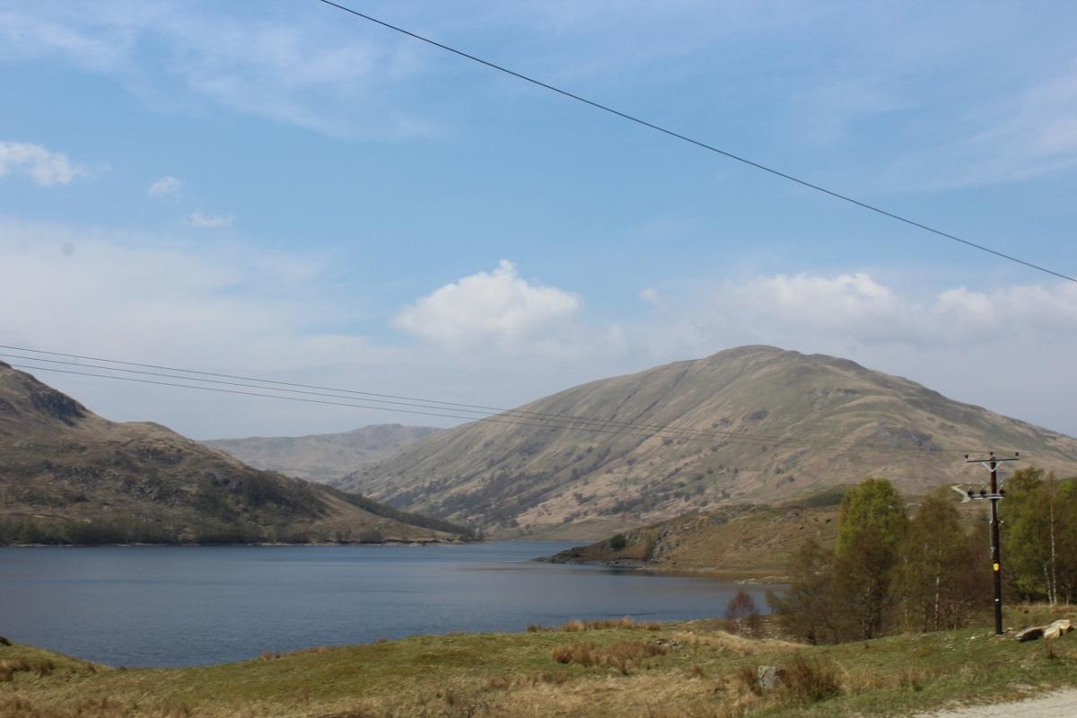 Brig O'Turk and Glen Finglas Reservoir