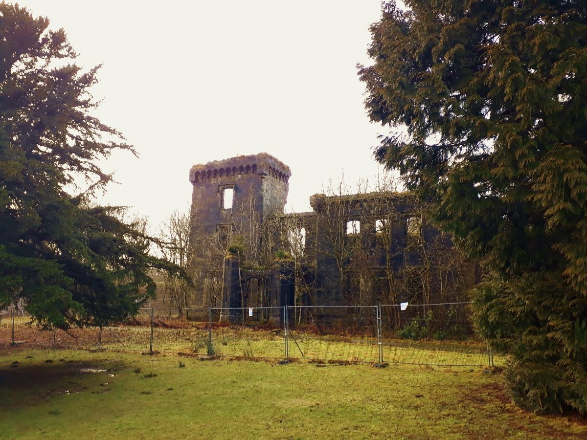 Craigend Castle - Mugdock Country Park