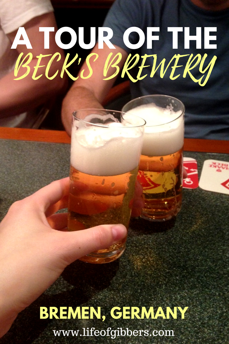Image of two beers from the Beck's beer tasting session